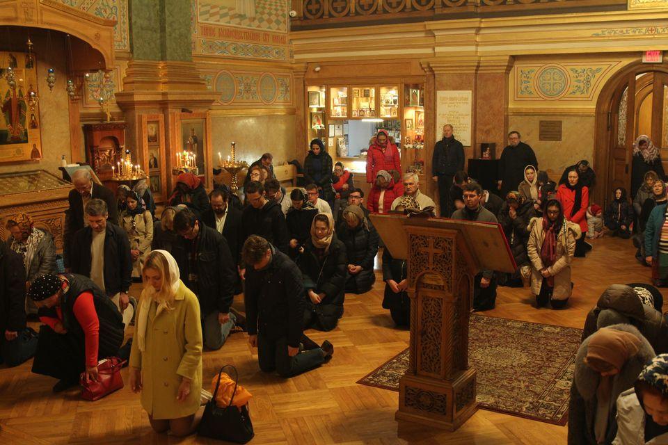 Национальный день молитвы США в соборе Нью-Йорка