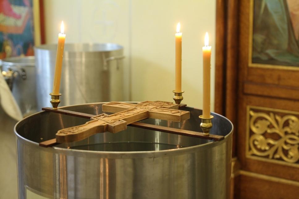 Праздник Богоявления в Николаевском соборе Нью-Йорка