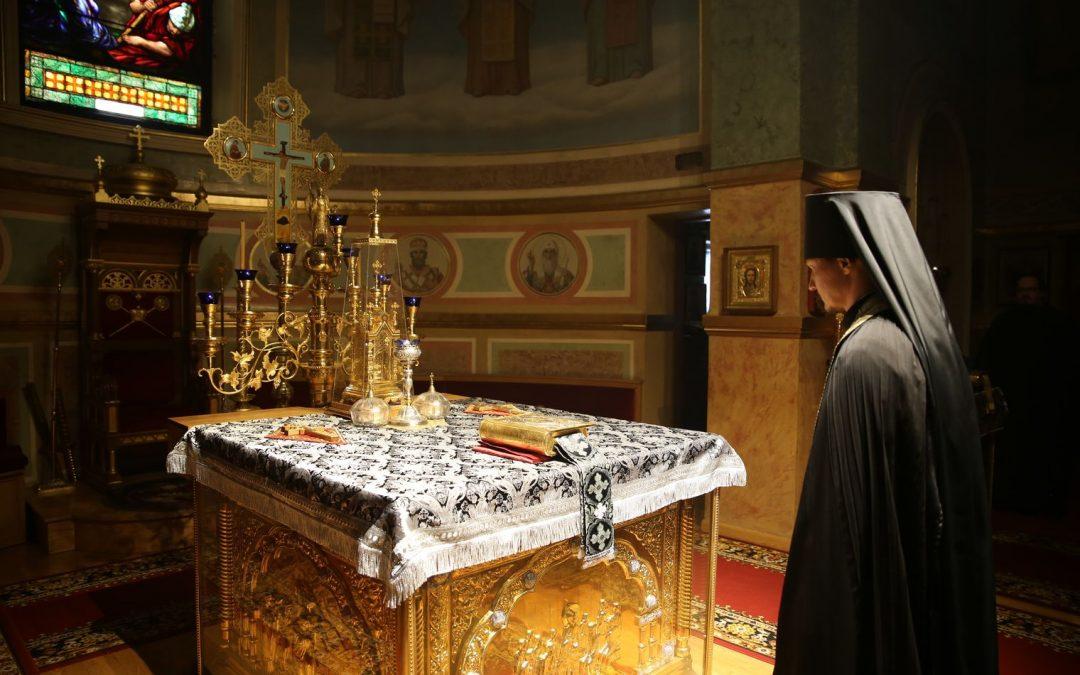 Начало Святой Четыредесятницы. Расписание богослужений первой седмицы Великого поста