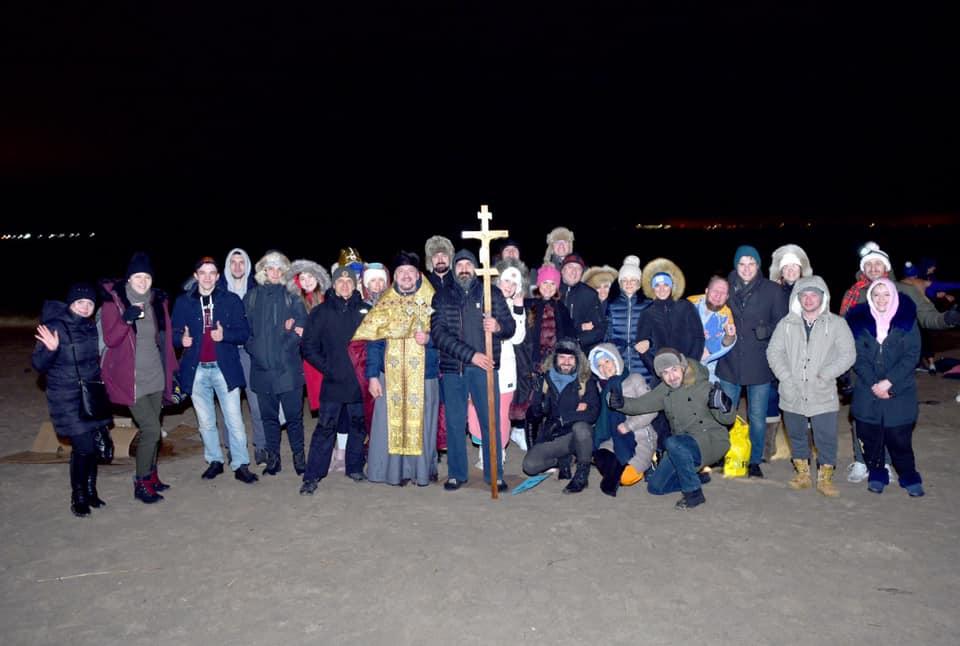 В ночь на 19 января состоялось традиционное освящение вод Атлантического океана