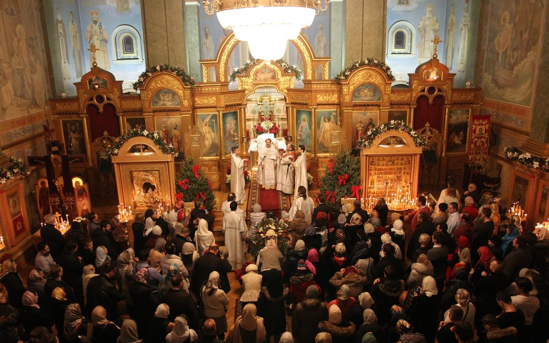 Праздник Рождества Христова в Николаевском соборе Нью-Йорка