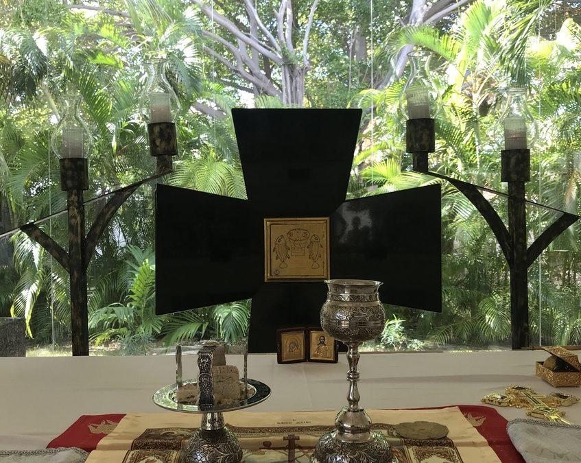 В праздник Богоявления свою первую годовщину отметила община Московского Патриархата в мексиканском Канкуне