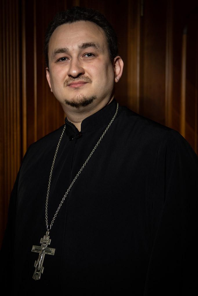 Иерей Юлиан Рябцев, председатель Молодежного отдела Патриарших приходов в США
