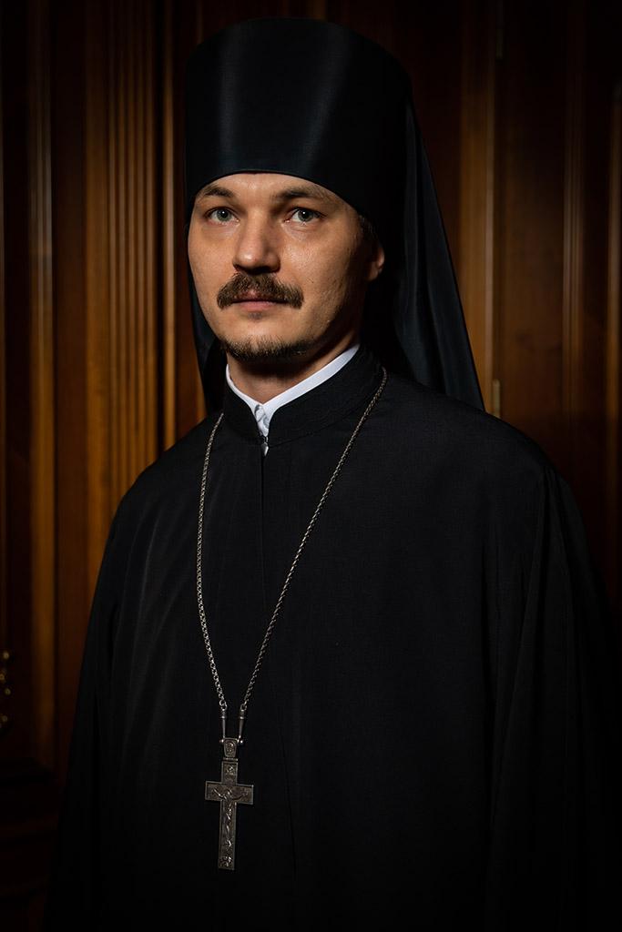 Игумен Никодим (Балясников), ключарь собора, секретарь Управляющего Патриаршими приходами в США