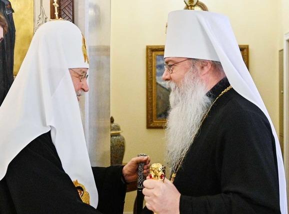 Состоялся телефонный разговор Святейшего Патриарха Кирилла с Предстоятелем Православной Церкви в Америке
