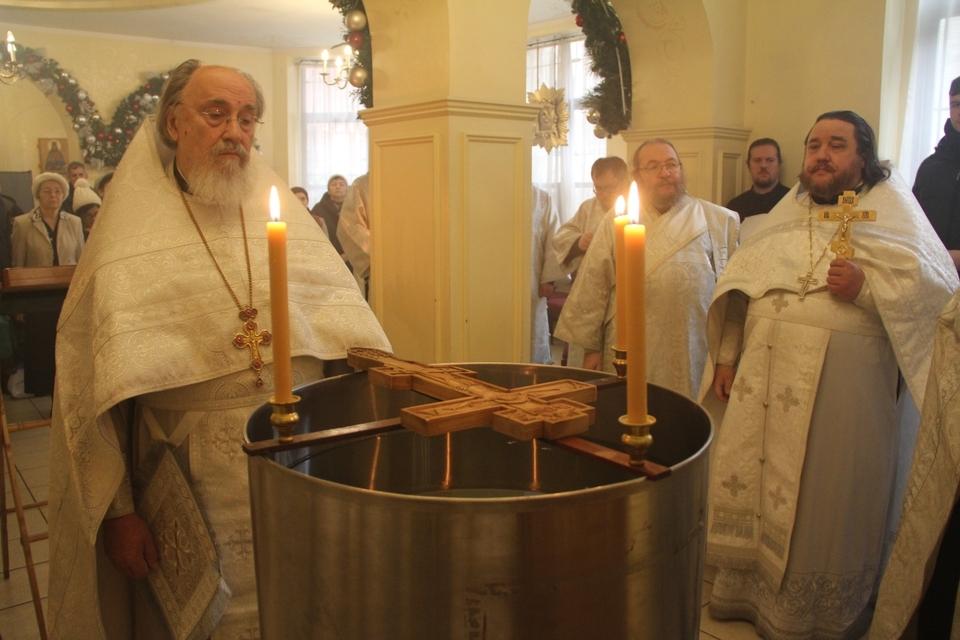 В канун праздника Богоявления в Патриаршем соборе Нью-Йорка прошла череда уставных богослужений