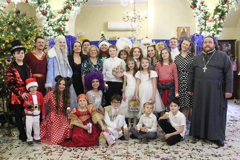 Рождественский праздник в Николаевском Патриаршем соборе Нью-Йорка
