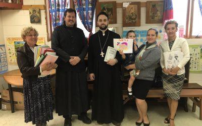 Директор и преподаватели Воскресной школы Патриаршего собора Нью-Йорка посетили приходскую школу Покровского храма г. Наяк