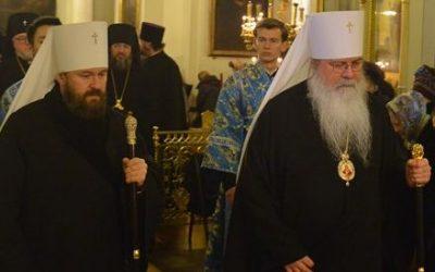 Предстоятель Православной Церкви в Америке и Председатель Отдела внешних церковных связей посетят Николаевский Патриарший собор