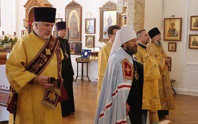 Председатель ОВЦС и Первоиерарх РПЦЗ совершили Литургию в Синодальной резиденции Русской Зарубежной Церкви в Нью-Йорке